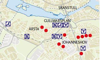 Karta Årsta